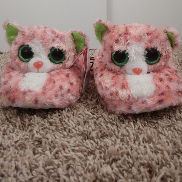 TY Beanie Boo slippers size XXL 5 6 girls 49e1d0db291b